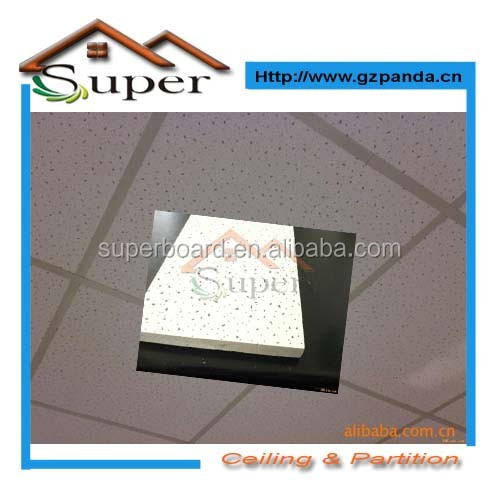 600*600 China Acoustic Mineral Fiber Ceiling Tiles Latest <strong>Technology</strong>