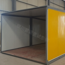20 FT container house used for the worker temporary accommodation made in china