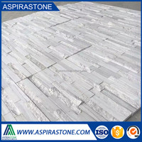 Hot sale white culture stone natural slate floor tiles for wall