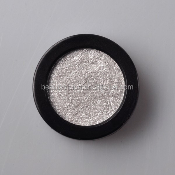 Eyes using baked powder single color eyeshadow