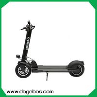 lightest 350w/500w lithium aluminum alloy/carbon fiber 2 wheel eletric scooter with CE