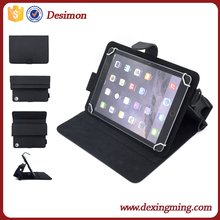 Excellent quality shockproof leather flip universal tablet case for ipad air with phone bag