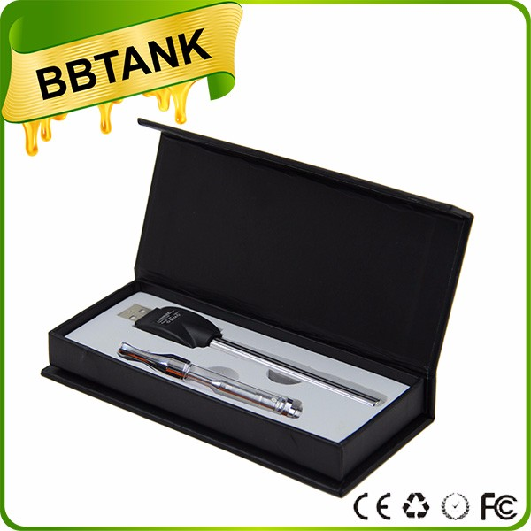 ODM/OEM available bbtank vape pen battery/ oil ADV battery packaging/ disposable atomizer cartridge .5ml