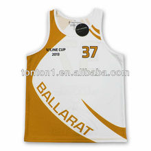 dry fit material custom basketball warm up shirts