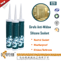 White Anti Mould Weatherproof Antifugus Silicone Sealant
