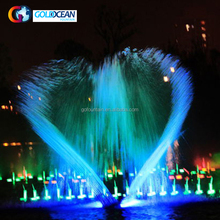 Floating Large Led Dancing Water Fountains Outdoor water fountain