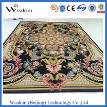 Beautiful flower wool & nylon carpet for restaurant