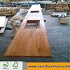 Solid Oak wood Finger Joint board for Worktop/Countertop/benchtops/wood shelving