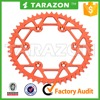 Hot sale 7075 motorcycle rear sprocket for ktm exc sx 85 125 300 530
