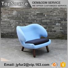 Coffee Shop Lifestyle Blue Dining Chair Furniture Modern