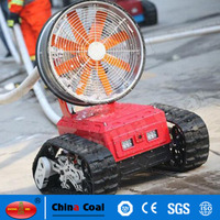 Remote Control Robotic Firefighter with Water Monitor