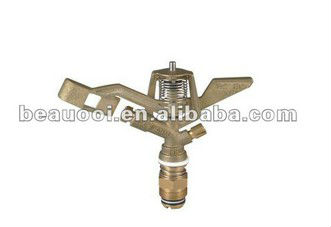 "BEA-HC041 3/4"" garden brass impulse/fire/irrigation/water sprinkler"