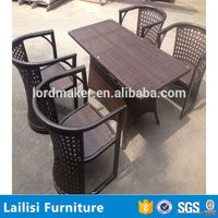 Classic hot sale cast aluminum outdoor patio furniture