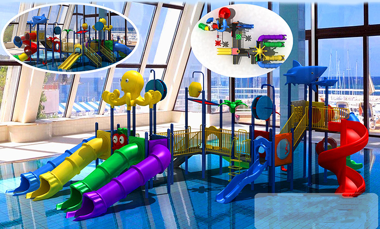 Hot selling water park playground water park business plan fiberglass water slide HF-G126A