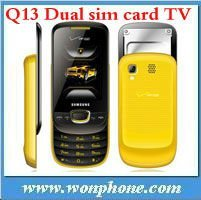 Very Cheap Q13 TV Dual Sim Phone