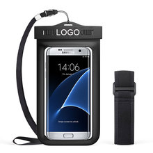 Waterproof Mobile Bag with Armband Neck Strap for iPhone 7, 7 Plus, 6s, 6, 6s Plus, SE