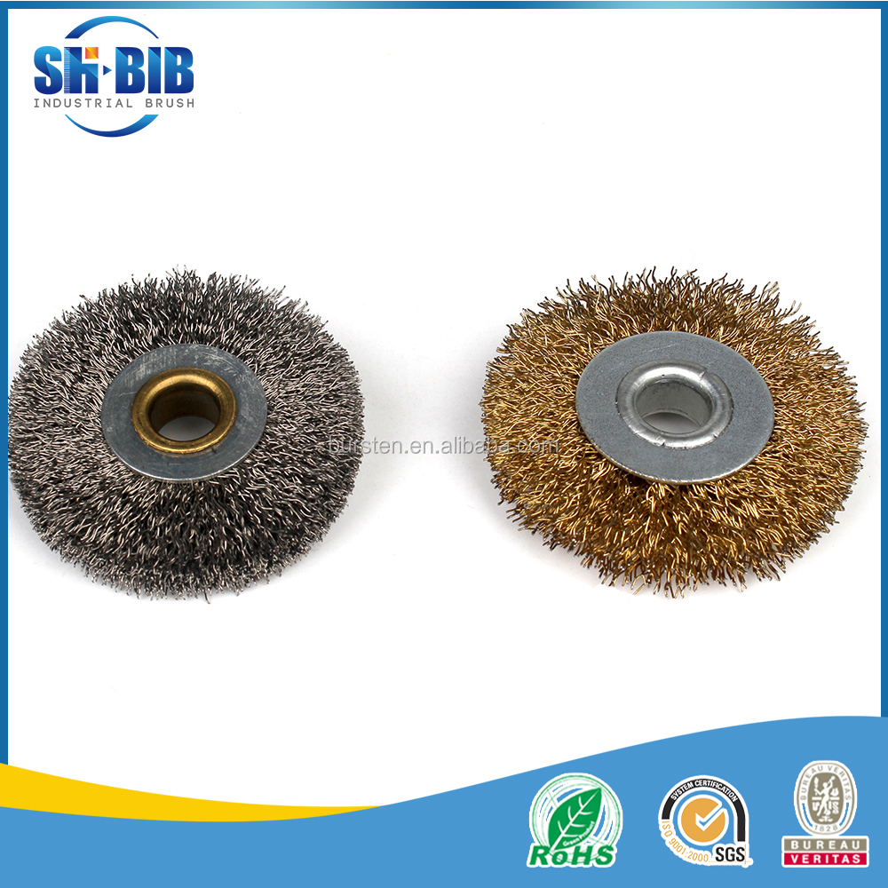metal wire paint rust removal circular brush