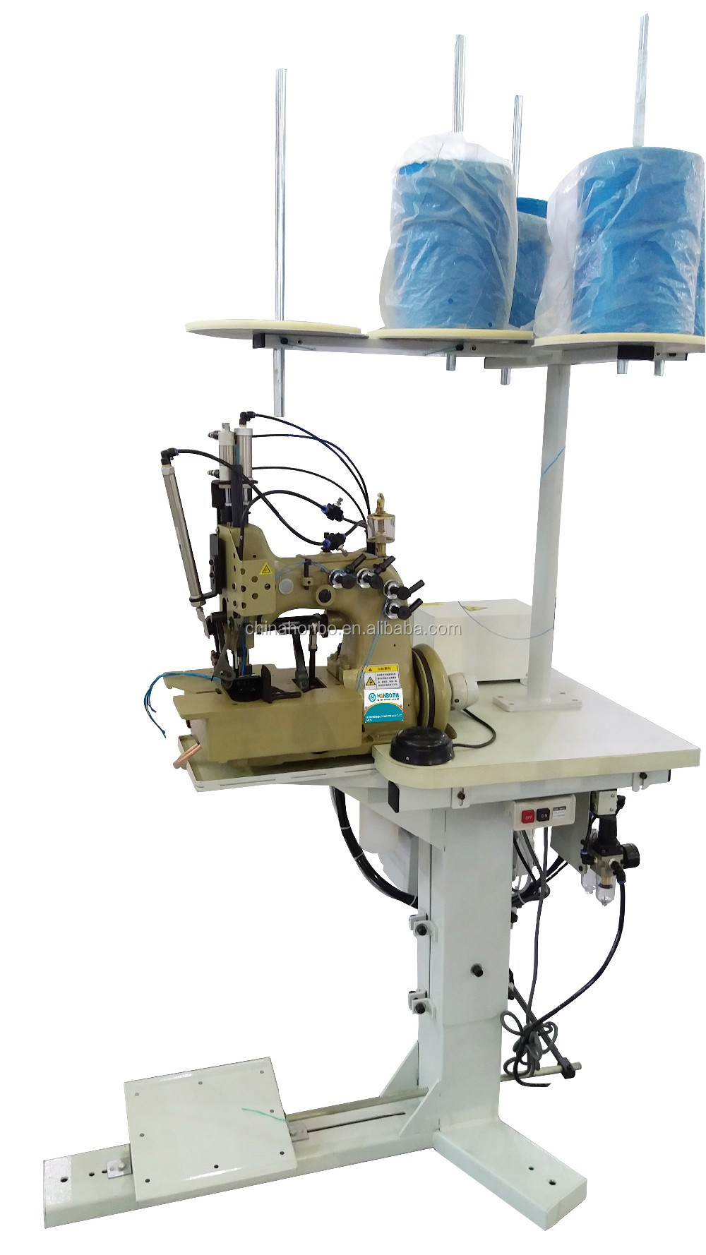 HB-81300A1H Double Needle Four Thread Jumbo Bag Overlock Sewing Machine