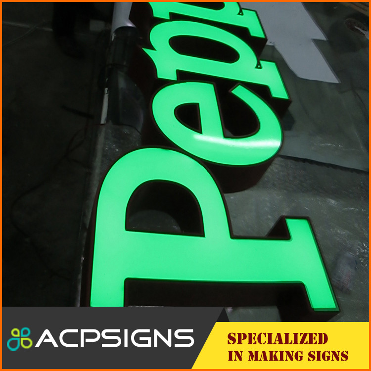 led scrolling message sign