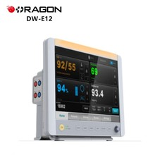 DW-E12 Electronic multiparameter ICU bed spo2 patient monitor