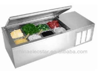 Salad Preparation Refrigerator,kitchen refrigerator, with ETL , salad case,restaurant equipment,salad bar