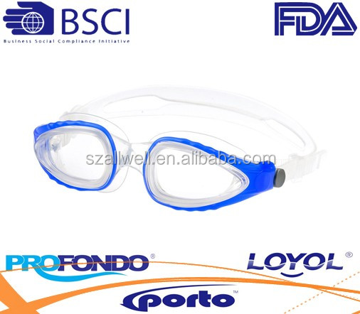 New Swimming Goggles for Adults in Liquid Silicone Material