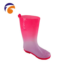 JiTong G647 High Quality Women Pvc Plastic Jelly Shoes , Fashion Rain Boot, Rain Boots Wholesale From China Supplier