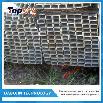 new products on china market square rectangular welded carbon steel pipe