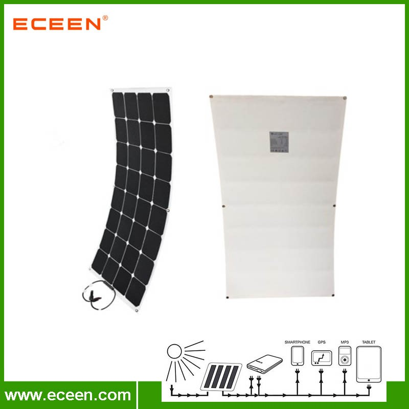 Eceen SunPower autocaravana 100 W panel solar flexible