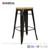 Replica Xavier Pauchard Wood Industrial Bar Stool (OZ-IR-1007BW)