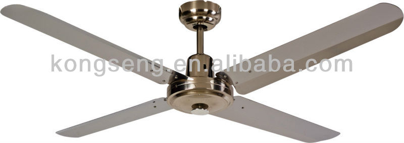 "60"" stainless steel ceiling fan"
