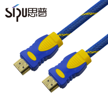 SIPU hdmi 1.4v with ethernet for 3d 24k high quality gold plated 2.0v hd-mi cable