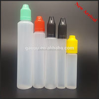 New 30ml unicorn bottle 30ml PE bottle bottles and packaging made in China