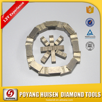 NILE RED Diamond Tools/Cutting Segment For Granite/Marble