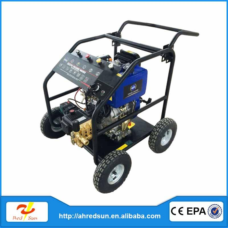 diesel engine 10000 high pressure washer hydro blasting machine petrol fuel china surface cleaner