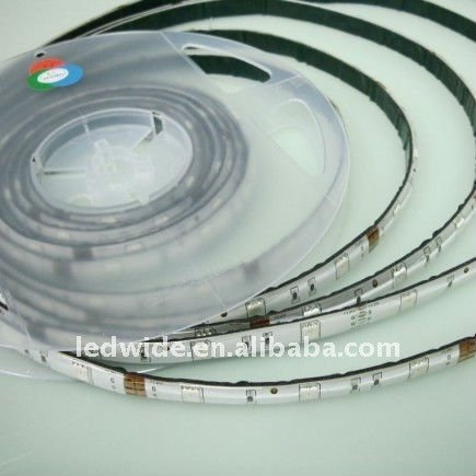 silicon jacketed RGB LED stripe, 5050smd sealed with male/female connector