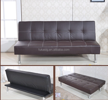 China wholesale price of sofa cum bed esigns,synthetic leather sofa bed,modern design sofa cum bed made in china