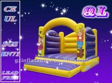 2016 Qi Ling mini kids party inflatable