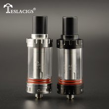 Tesla eCig factory 2016 news Teslacigs shadow tank with Cyclops Style bottom airflow