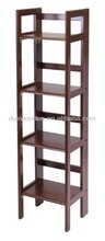 2014 New Wood Folding 4-Tier Shelf
