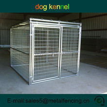 5'x9'x6' one Run Galvanized Dog Kennels in pet cage For Sale