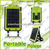 2014 Newest Portable USB Smart phone Solar Charger Bag