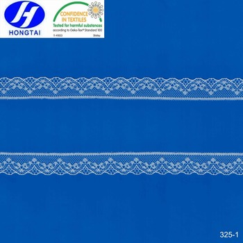 popular design fabric trimmings accessories eyelash lace for wedding dress 2017