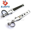 "ZJMOTO MOTORCYCLE CAFE RACER BOBBER CHOPPER 1 1-1/4"" Foot PEG WITH CLAMP FIT TO HARLEY CUSTOM"