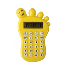 10 Digits Foot Shaped Electronic Promotional Gifts Calculator