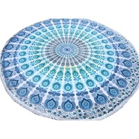 Quick-Drying Light Weight Large Circle Custom Beach Towel Softtextile