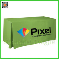 Fancy Green Decorative Table Cloth/Table Cover