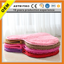 Chenille Fabric Carpet floor mats/ Chenille bedroom carpets