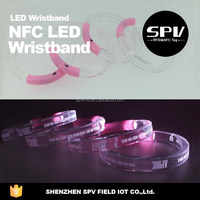 LED NFC Bracelets Remote Control for Music Festival