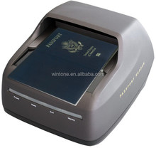 China manufacturer e-passport,visa,ID card and driver license MRZ OCR full page reader